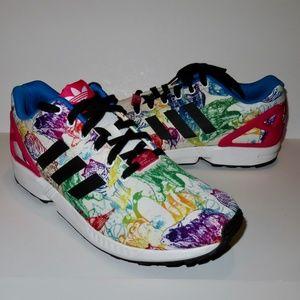Adidas ZX Flux Shoes Torsion Size 11 Animal Rare